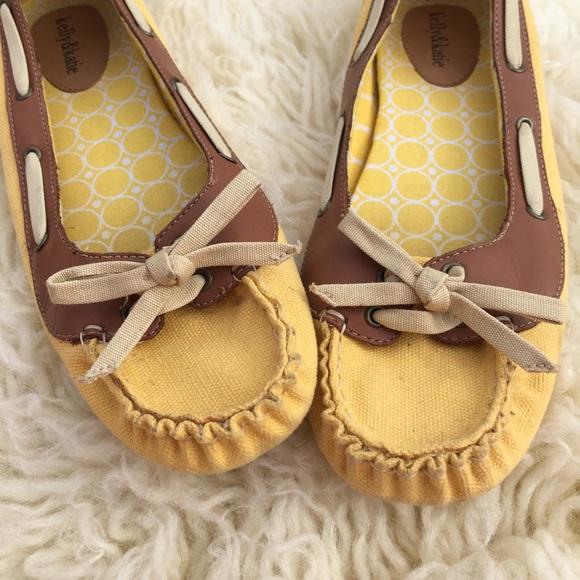 ab8e5496e5e Spring yellow and tan loafers
